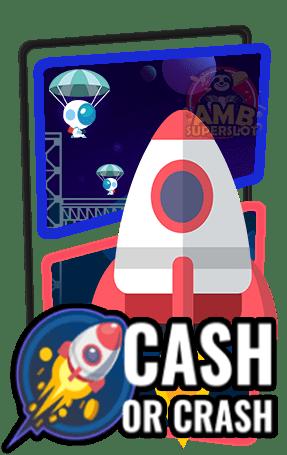 วิธีเล่นเข้าเล่น เกม Cash Or Crash